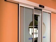 Porta automatica scorrevoleA1000 | Porta d'ingresso automatica - FAAC SOC. UNIPERSONALE