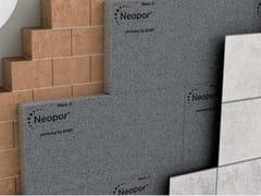Pannello isolante in Neopor® su muratura in laterizio foratoNeopor® - Isolamento facciata ventilata - NEOPOR® BY BASF