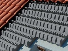 Neopor® by BASF, Sistema sagomato sottotegola in Neopor® Sistema sagomato sottotegola in Neopor® per tetti ventilati