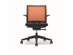 Sedia ufficio operativa ergonomica girevole con braccioli B_RUN   Sedia ufficio operativa -