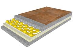 Pannello radiante a pavimentoECOfloor E - ROSSATO GROUP