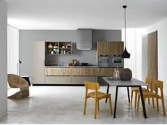 Cucina componibile lineare ARIEL - COMPOSIZIONE 3 - Ariel