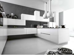 Cucina laccata ARIEL - COMPOSIZIONE 6 - Ariel