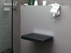 Sedile doccia ribaltabile in poliuretanoQUADRA | Sedile doccia - GEELLI BY C.S.