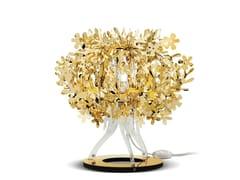 Lampada da tavolo in Goldflex® FIORELLINA GOLD - Fiorella