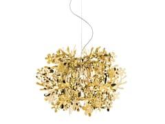 Lampada a sospensione in Goldflex® FIORELLA MINI GOLD - Fiorella