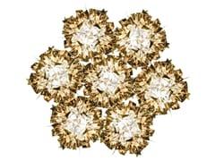 Lampada da soffitto in Goldflex® VELI 7 GOLD - Veli