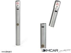 Posacenere per spazi pubblici in metalloPortamozziconi da interrare - DIMCAR