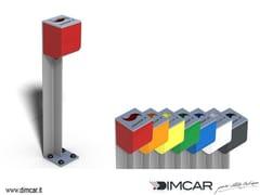 Posacenere per spazi pubblici in metalloPosacenere Fumino - DIMCAR