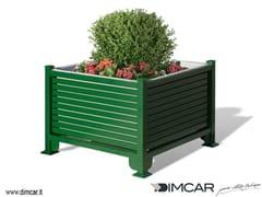 DIMCAR, Fioriera Persiana Fioriera per spazi pubblici in metallo