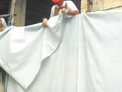 TENAX, COVERET L Copertura di ponteggi per cantiere