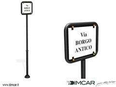Segnale stradaleTabella per targhe in ceramica - DIMCAR