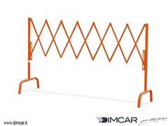 Transenna estensibile in metalloTransenna Milano - DIMCAR