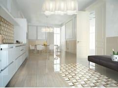 Pavimento/rivestimento in gres porcellanato effetto marmoMARMOKER - CASALGRANDE PADANA