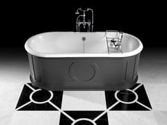 Devon&Devon, CAPITOL Vasca da bagno in alluminio in stile classico