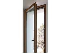 Finestra a battente in legno EXTER GLASS DESIGN | Finestra a battente - Legno/vetro
