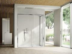 Box doccia angolare con porta pivotante LIKE 09 - Like