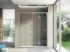 Box doccia a nicchia con porta a soffietto LIKE 06 - Like