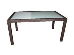 Tavolo da giardino rettangolare ALASSIO | Tavolo rettangolare - Alassio