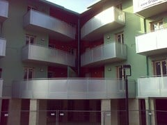 Balaustra a montante monolama e pannello in alluminioNUOVO PALADINA - ALUSCALAE