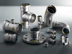 Viega Italia, SANPRESS INOX G Tubi e raccordi a pressione in acciaio inox