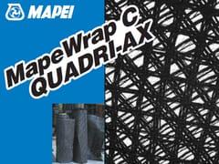 MAPEI, MAPEWRAP C QUADRI-AX Tessuto di rinforzo in fibra di carbonio