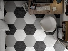 EQUIPE CERAMICAS, RHOMBUS Pavimento/rivestimento in porcellana per interni ed esterni