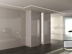 Boiserie / porta in legno INFINITY SYSTEM LINEAR - Glossy