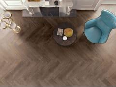 Pavimento in gres porcellanato effetto legno SOUL WALNUT - Soul