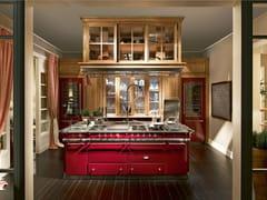 Cucina componibile con isola MONTEREY - Monterey