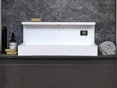 Lavabo da appoggio rettangolare in Solid SurfaceJP | Lavabo in Solid Surface - MG12