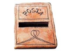 FORNACE FONTI, FORMELLA POSTA Placca per lettera in cotto