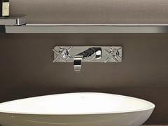 Rubinetto per lavabo a muro con piastra AXOR CITTERIO E | Rubinetto per lavabo con piastra - Axor Citterio E