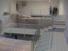 ALUSCALAE, PASSERELLA SITI ARCHEOLOGICI Passerella pedonale in alluminio per siti archeologici