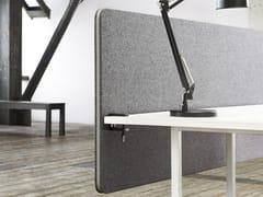 Pannello divisorio da scrivania modulare Edge Table Screen - Table Screens