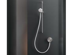 Miscelatore bicomando a parete con doccino CIR 08 - CIRCLE