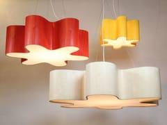 Lampada a sospensione a LED fatta a mano GIANT LOTUS / PUSSY PENDANT -