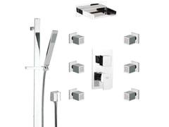 Set doccia con miscelatore, saliscendi, soffione e doccetta FLASH | Set Doccia - Flash