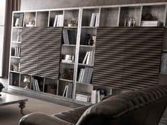 Libreria foglia argento EBON | Libreria foglia argento - Zoe Gold