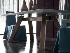 Tavolo rettangolare in legno SOHO | Tavolo in legno - Zoe Gold