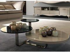Tavolino basso da salotto TIAGO | Tavolino - Zoe Gold