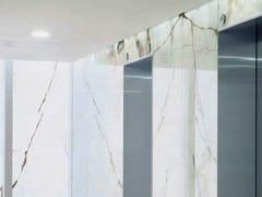Glassolutions, FLOATSTONE Vetro stratificato con strato in pietra naturale