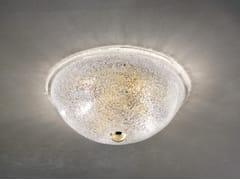 Lampada da soffitto in vetro soffiato ACCADEMIA PP 30 - Accademia