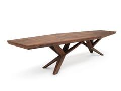 Tavolo da riunione rettangolare in legnoXENIA - BELFAKTO