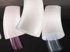 Lampada da soffitto in vetro soffiato ASSIBA PL 2 - Assiba