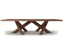 Tavolo da riunione rettangolare in legnoROGUM - BELFAKTO