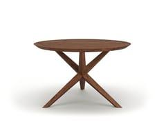 Tavolo da pranzo rotondo in legnoVERA - BELFAKTO