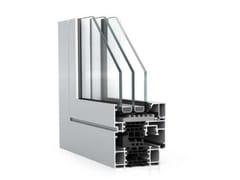 WICONA, WICLINE 75 evo - Alto Isolamento Sistema a camera multipla ad elevato  isolamento termico
