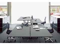 Scrivania ad altezza regolabile operativa USM KITOS TABLE | Scrivania ad altezza regolabile - USM Kitos Table