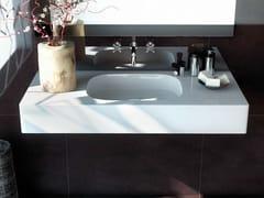 Lavabo rettangolare sospeso in Silestone® EXCLUSIVE + 12 -